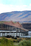The Dalles Bridge stock photography
