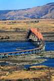 The Dalles Bridge Royalty Free Stock Photos