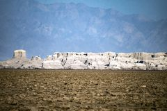 Dallol, Danakil沙漠,埃塞俄比亚 库存照片