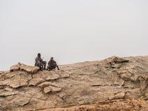 Dallol στην κατάθλιψη Danakil, Αιθιοπία στοκ φωτογραφία με δικαίωμα ελεύθερης χρήσης