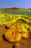 Dallol   Royalty-vrije Stock Foto