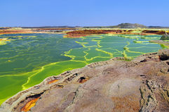 Dallol   Lizenzfreie Stockfotos