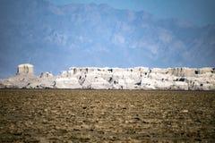 Dallol Danakil öken, Etiopien Arkivfoto