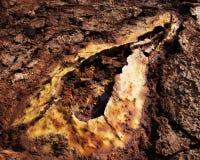 Dallol, Danakil depresja, Etiopia Gorący miejsce na ziemi Obrazy Royalty Free