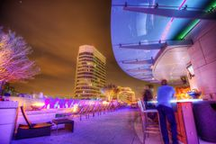 Dalls Hotel Rooftop Bar. Taken in 2015 royalty free stock photo