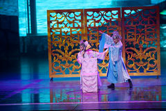 Dally with peony--The historical style song and dance drama magic magic - Gan Po Stock Photo