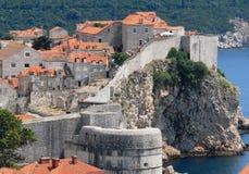 Dalmácia Dubrovnik na Croácia Fotografia de Stock Royalty Free