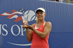 Dalma Galfi US Open 2015 (5) Stock Photos