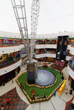 Dalma Mall Shopping Centre, Abu Dhabi, United Arab Emirates. ABU DHABI, UAE, 28 MAR 2016.  Editorial Photograph of Dalma Mall Shopping Centre, which opened in Stock Images