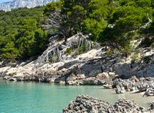 Dalmatië Makarska Stock Afbeelding