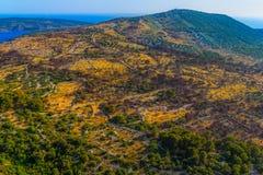 Dalmatia aerial Royalty Free Stock Images