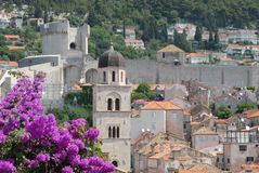 Dalmatia Dubrovnik i Kroatien Royaltyfria Bilder