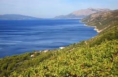 Dalmatia krajobraz fotografia royalty free