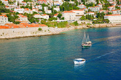 Dalmatian coast Stock Photos