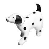 Dalmatian Dog ceramic figurine Royalty Free Stock Images