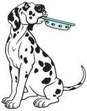 Dalmatian dos desenhos animados Imagem de Stock Royalty Free