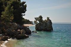 Dalmatian kust Royaltyfria Foton