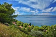 Dalmatian kustKroatien Royaltyfri Bild