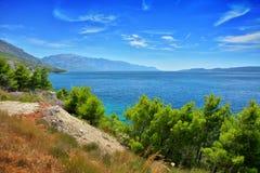 Dalmatian kustKroatien Arkivbilder