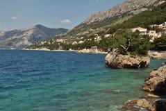 Dalmatian Wybrzeże Fotografia Royalty Free