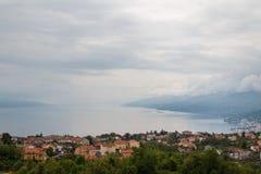 Dalmatiner-Adria-Küste Stockbild