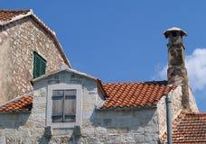 Dalmatinische Architektur Lizenzfreie Stockfotos