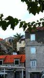 Dalmatinische Häuser Stockbilder
