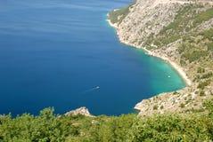 Dalmatinische Küste Stockbilder