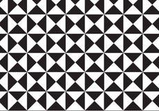 Dalmatinischer Pelz Wiederholen des Dreiecks Stockfoto