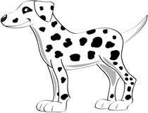 Dalmatisch stock illustratie