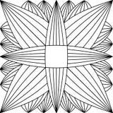 Dalmatisch bont Royalty-vrije Stock Afbeeldingen