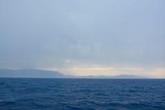 Dalmatisch Overzees onweer Royalty-vrije Stock Fotografie
