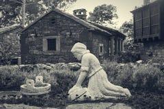 Dalmatisch platteland Stock Fotografie