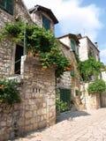 Dalmatische stad Royalty-vrije Stock Afbeeldingen