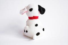 Dalmatische stuk speelgoed hond Stock Fotografie