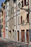 Dalmazia street, parma Royalty Free Stock Photos