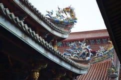 Dalongdong Baoan Temple en Taipei Fotos de archivo