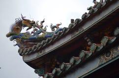 Dalongdong Baoan Temple en Taipei Imagenes de archivo
