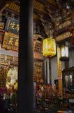 Dalongdong Baoan Temple en Taipei Imagen de archivo