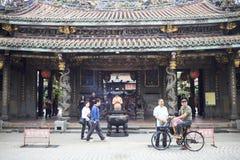 Dalongdong Baoan Temple, Taipei,Taiwan Stock Image