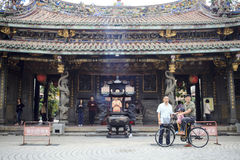 Dalongdong Baoan Temple, Taipei,Taiwan Royalty Free Stock Images