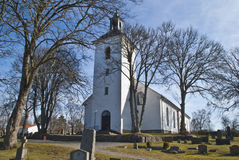 Dals-Ed Church (Facing North) Royalty Free Stock Photo