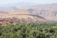 Dalsikt i Marocko, Afrika Fotografering för Bildbyråer