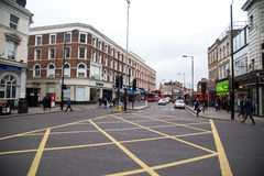 Dalston high road Royalty Free Stock Photos