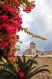 Dalt维拉伊维萨岛(西班牙) 免版税库存图片