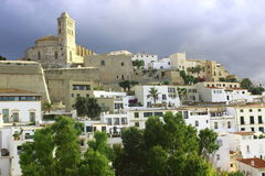Dalt vila Stock Photo