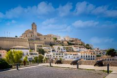 Dalt Vila fortress Royalty Free Stock Images