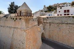Dalt Vila, Ibiza Royalty-vrije Stock Foto's