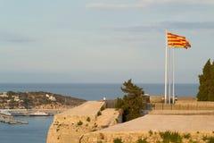 Dalt Vila, Ibiza, Balearic Island, Espanha Foto de Stock