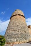 Dalt Vila in Ibiza, Spain. Ibiza Castle in Dalt Vila, Spain Royalty Free Stock Photography